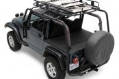 Smittybilt® - SRC Textured Black Roof Rack