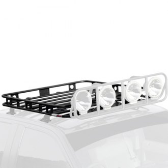 Smittybilt® - 3.5' x 6' Defender Roof Rack without Mounts