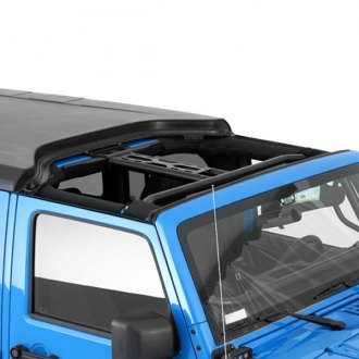 Smittybilt® - Textured Black Hard Top w/o Upper Doors
