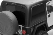Smittybilt® - Black Hard Top without Upper Doors