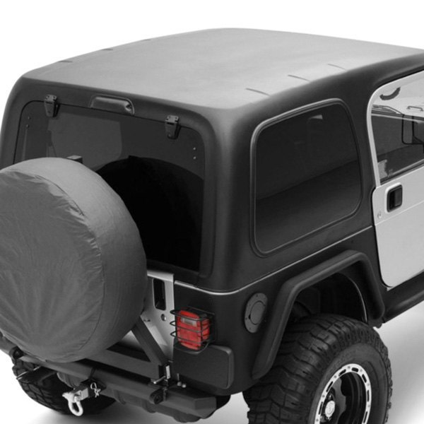 Smittybilt® - Black Hard Top with Upper Doors