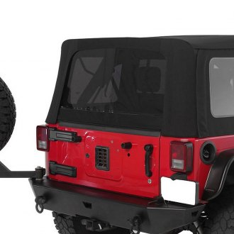 Smittybilt® - Premium OEM Replacement Canvas Soft Top with Tinted Windows