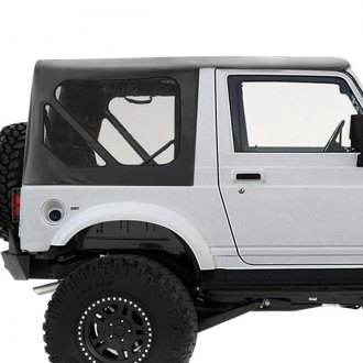 Smittybilt® - Diamond Black OEM Replacement Soft Top with Zip Out Windows
