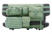 Smittybilt® - G.E.A.R. Olive Drab Green Rear Seat Cargo Cover
