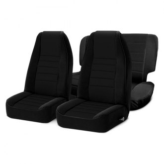 Smittybilt® - Neoprene Black Sides / Black Center Seat Covers