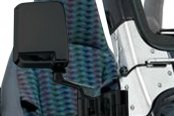 Smittybilt® - Black Driver and Passenger Rectangular Side Mirrors