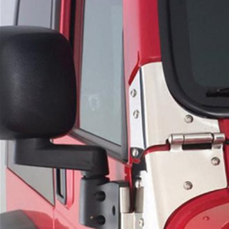 Smittybilt® - Textured Black Mirror Relocation Bracket