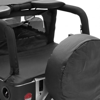 Smittybilt® - Factory Soft Top Denim Black Tonneau Cover