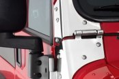 Smittybilt® - Stainless Steel Windshield Hinges