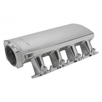 Sniper® - Hi-Ram Low Profile Sheet Metal EFI Fabricated Intake Manifold and Fuel Rail Kit
