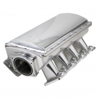 Sniper® - Race Series Hi-Rise EFI Fabricated Intake Manifold with Removable Top & Fuel Rail Kit