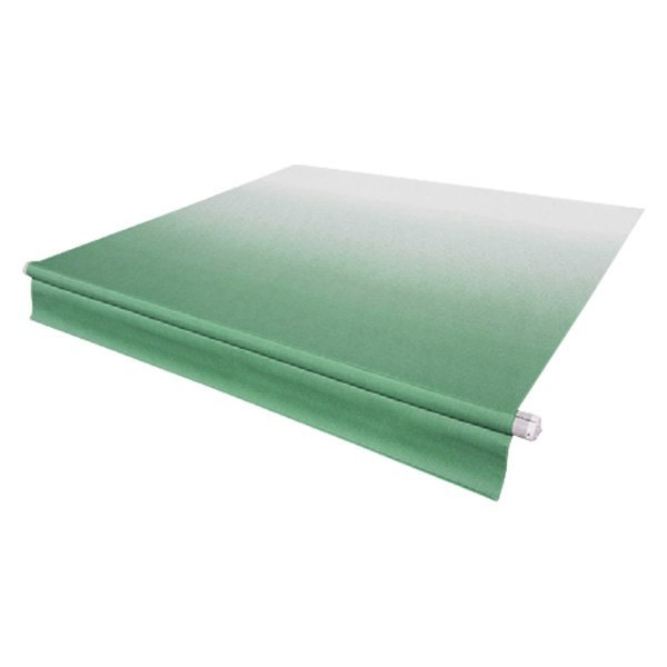 Solera Awnings® V000345097 - 14' x 8' Vinyl Green Fade ...