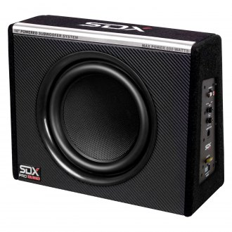 "Sondpex® - 10"" Single Sealed Powered 600W Subwoofer Enclosure"