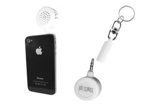 Sondpex® - Tunes2Go™ Keychain Mini Speaker with Flashlight