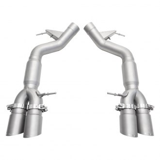 Soul Performance® - Stainless Steel Resonated Muffler Bypass Exhaust System with Quad Rear Exit