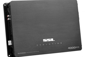 Sound Storm Lab® - Evolution Series Class D Mono 4000W Amplifier with Remote Subwoofer Control