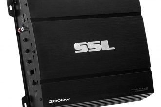 Sound Storm Lab® - Force Series Class AB 2-Channel 2000W Amplifier