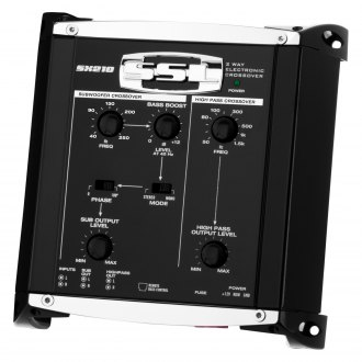 Sound Storm Lab® - 2-Way Electronic Crossover with Remote Subwoofer Level Control