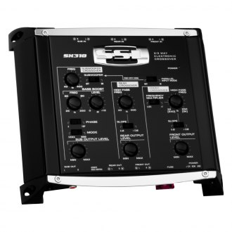 Sound Storm Lab® - 3-Way Electronic Crossover with Remote Subwoofer Level Control