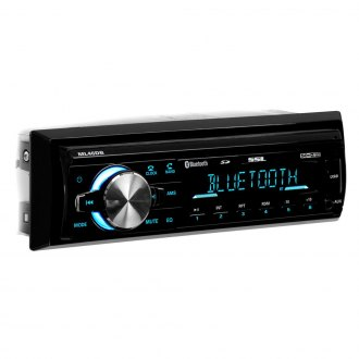 Sound Storm Lab® - Single DIN AM/FM/MP3/WMA Digital Media Receiver with Built-In Bluetooth
