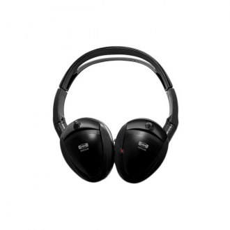 Sound Storm Lab® - Foldable Wireless Headphones with IR Transmitter (2 Pairs)