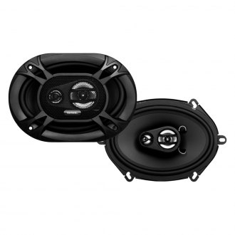 "Sound Storm Lab® - 5"" x 7"" 3-Way EX Series 200W Coaxial Speakers"