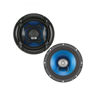 "Sound Storm Lab® - 6-1/2"" 2-Way Force Series 200W Coaxial Speakers"