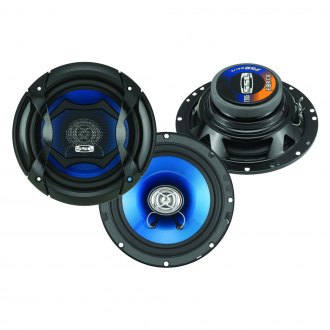 "Sound Storm Lab® - 6-1/2"" 2-Way Force Series 250W Coaxial Speakers"
