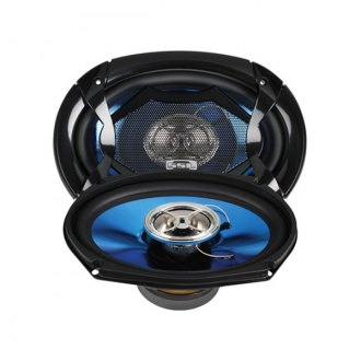 "Sound Storm Lab® - 6"" x 9"" 2-Way Force Series 350W Coaxial Speakers"