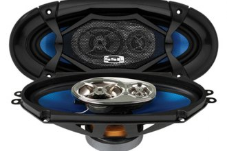 "Sound Storm Lab® - 4""x10"" 3-Way Force Series 400W Speakers"