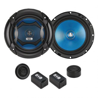 "Sound Storm Lab® - 6-1/2"" 2-Way Force Series 350W Component Loudspeaker System"