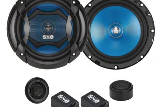 "Sound Storm Lab® - 6.5"" 350W 2-Way Force Component Loudspeaker System"