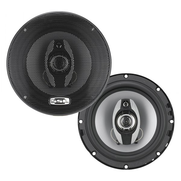 "Sound Storm Lab® - 6-1/2"" 3-Way GS Series 300W Coaxial Speakers"