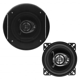 "Sound Storm Lab® - 4"" 3-Way SLQ Series 200W Coaxial Speaker"