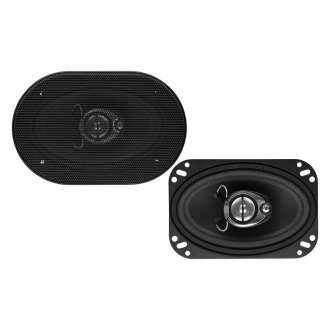"Sound Storm Lab® - 4"" x 6"" 3-Way SLQ Series 220W Coaxial Speakers"