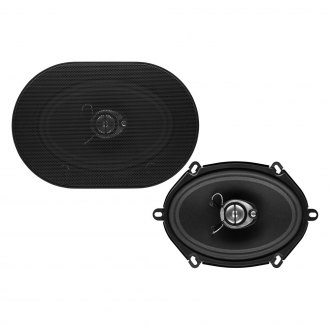 "Sound Storm Lab® - 5"" x 7"" 3-Way SLQ Series 300W Coaxial Speakers"