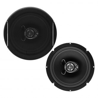 "Sound Storm Lab® - 6-1/2"" 3-Way SLQ Series 350W Coaxial Speakers"