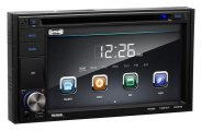 Sound Storm Lab® - Double DIN Digital Multimedia Receiver with 6.2'' Touchscreen Monitor, Aux Input, USB & SD