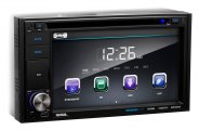 Sound Storm Lab® - Double DIN Digital Multimedia Receiver with 6.2'' Touchscreen Monitor, Bluetooth, Aux Input, USB & SD