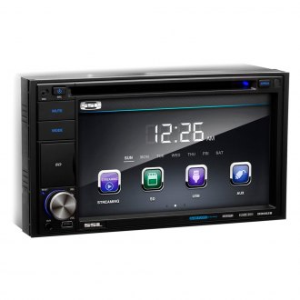"Sound Storm Lab® - Double DIN DVD/CD/AM/FM/MP3/WMA/MP4 Digital Multimedia Receiver with 6.2"" Touchscreen Monitor and Built-In Bluetooth"