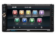 Sound Storm Lab® - Double DIN Digital Multimedia Receiver with Bluetooth, Detachable 7'' Touchscreen Monitor