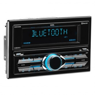 Sound Storm Lab® - Double DIN CD/AM/FM/MP3/WMA In-Dash Receiver with Built-In Bluetooth