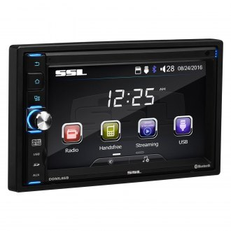 "Sound Storm Lab® - Double DIN AM/FM/MP3/WMA Digital Media Receiver with 6.5"" Touchscreen TFT Monitor"