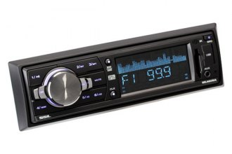 Sound Storm Lab® - Single DIN MP3/AM/FM/Aux/USB/SD Receiver