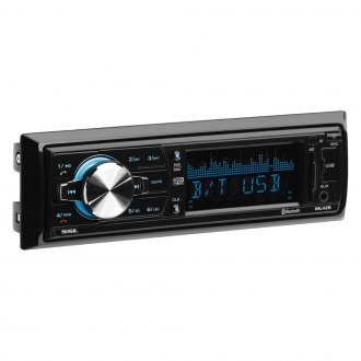 Sound Storm Lab® - Single DIN AM/FM/MP3/WMA Receiver with Built-In Bluetooth