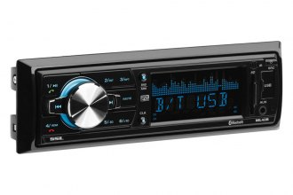Sound Storm Lab® - Single DIN MP3/Bluetooth/AM/FM/Aux/USB/SD Receiver