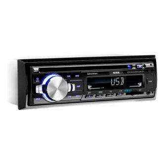 Sound Storm Lab® - Single DIN CD/AM/FM/MP3/WMA Receiver with Detachable Panel
