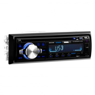 Sound Storm Lab® - Single DIN CD/AM/FM/MP3/WMA Receiver with Built-In Bluetooth
