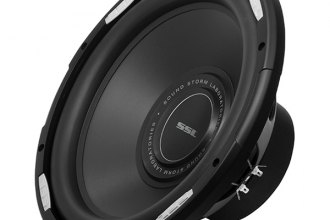 "Sound Storm Lab® - 12"" GSW Series 2000 Watt Dual 4 Ohm Voice Coil Subwoofer with Polypropylene Cone"