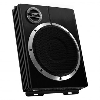 "Sound Storm Lab® - 10"" LoPro Series Single Low Profile Sealed Powered 1200W Subwoofer Enclosure"